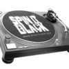 spin it black slip mat